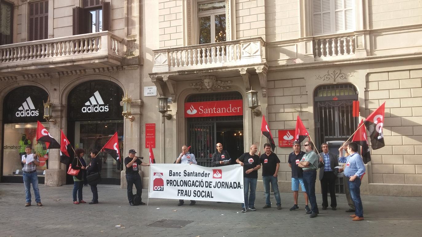Cr nica i fotos de la concentraci al santander fesibac for Banco pastor oficinas barcelona