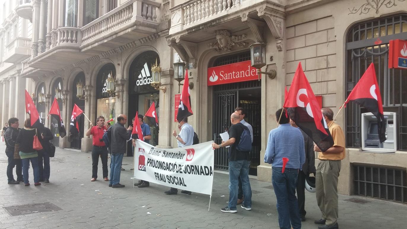 Banco de santander fesibac catalunya for Oficinas banco santander en barcelona