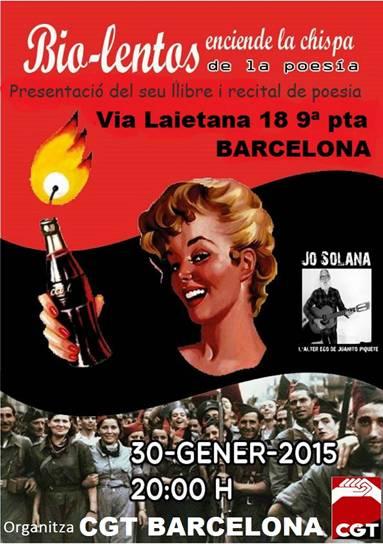 Presentaci llibre bio lentos fesibac catalunya for Conveni col lectiu d oficines i despatxos
