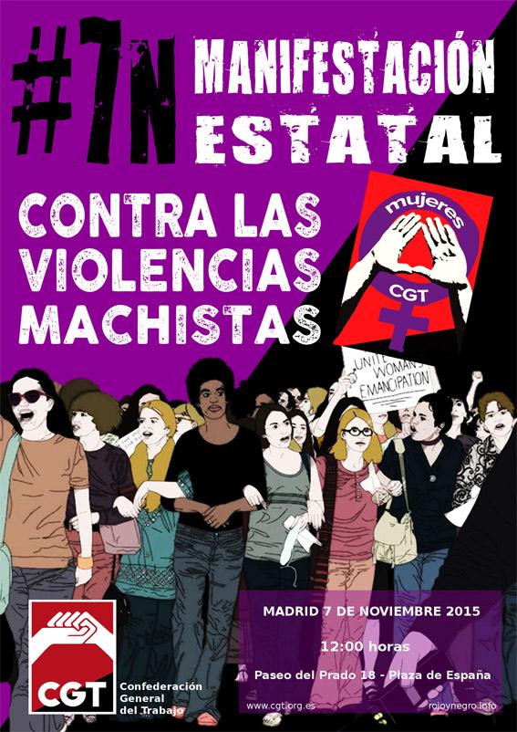 Marxa estatal contra les viol ncies masclistes madrid for Conveni col lectiu d oficines i despatxos